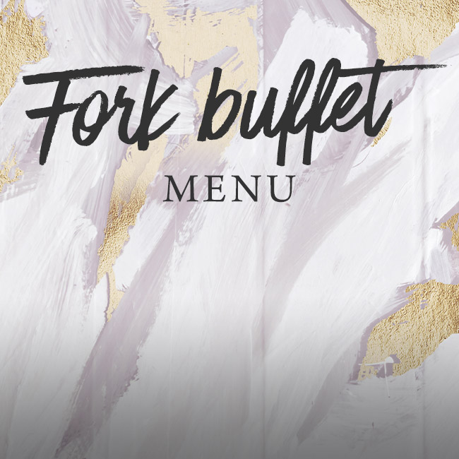 Fork buffet menu at The Hawk