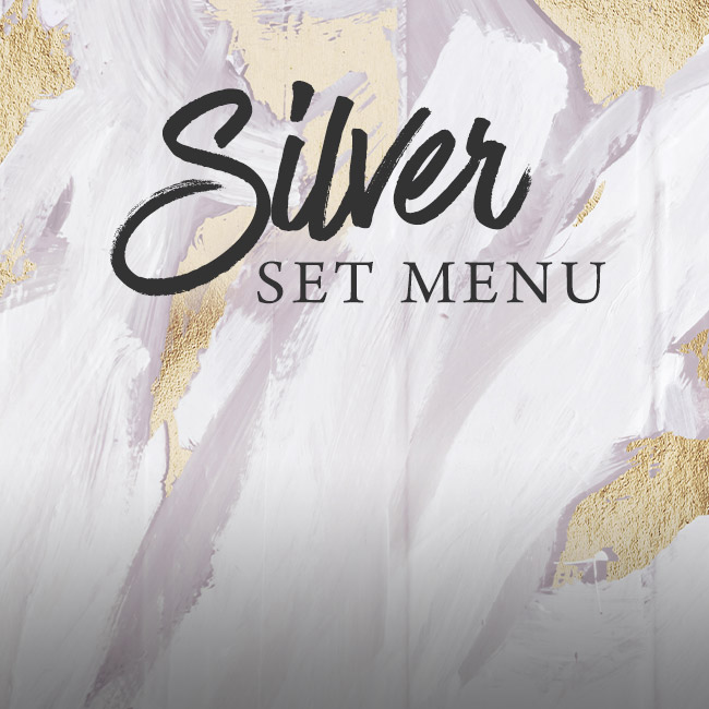 Silver set menu at The Hawk