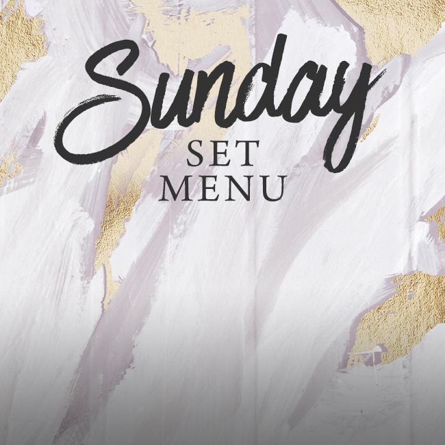 Sunday set menu at The Hawk