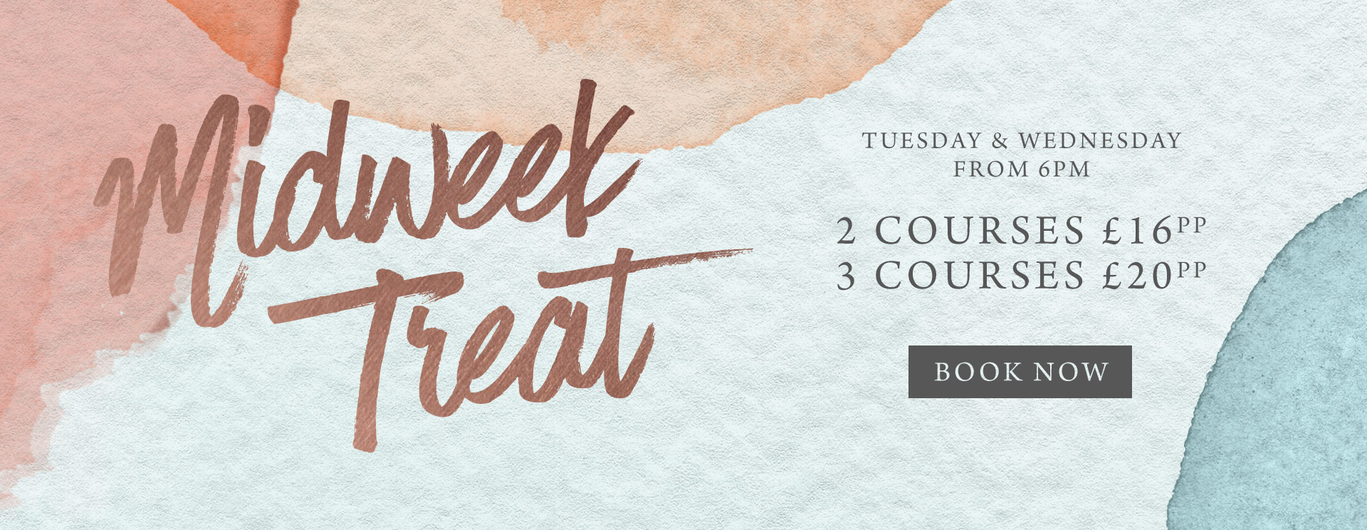 Midweek treat at The Hawk - Book now